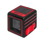 """Нивелир лазерный ADA Cube Basic Edition, 2 луча, 20 м, ± 2мм/10м, 1/4"""""""