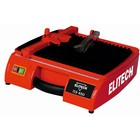 Плиткорез Elitech ПЭ 450, электр., 450 Вт, 2950 об/мин, ф115х22.2мм, 310х440мм, 23мм, кейс