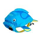 """Рюкзак для бассейна и пляжа """"Коралловая рыбка"""" цвет голубой"""