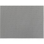 Сетка защитно-декоративная Dollex, алюминий, 100х20 см, ячейки 6х3,5 мм, черная