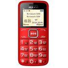 Сотовый телефон Maxvi B2, 32 МБ, TFT, 128х160, красный