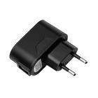 Зарядное устройство Prime Line (2304), USB 1000 mA, черное
