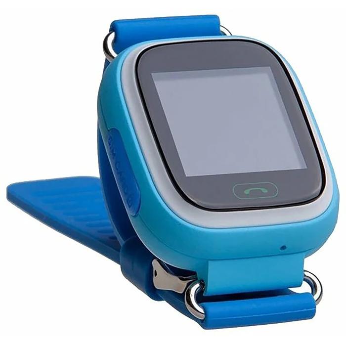 """Смарт-часы Prolike PLSW90, детские, цветной дисплей 1.3"""", голубые"""
