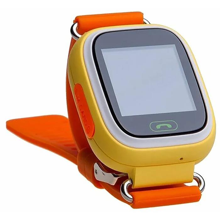 """Смарт-часы Prolike PLSW90, детские, цветной дисплей 1.3"""", оранжевые"""