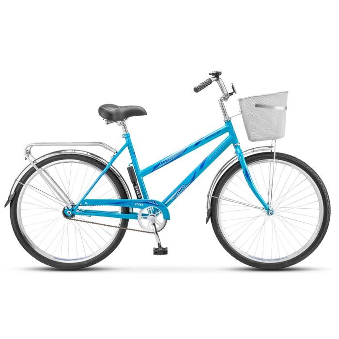 """Велосипед 26"""" Stels Navigator-210 Lady, Z010, цвет бирюзовый, размер 19"""""""