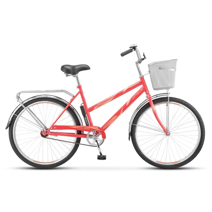 """Велосипед 26"""" Stels Navigator-210 Lady, Z010, цвет коралловый, размер 19"""""""