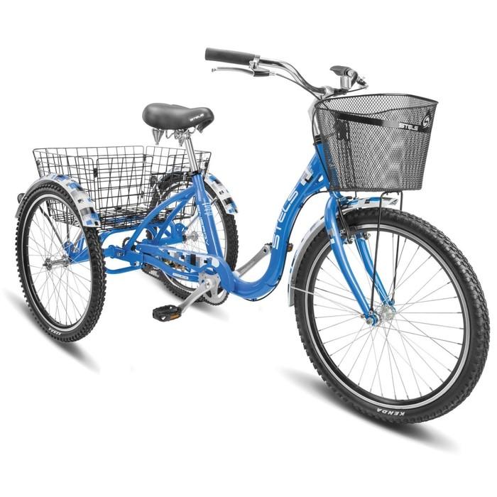 "Велосипед 24"" Stels Energy-IV, V020, цвет синий, размер 15,5"""
