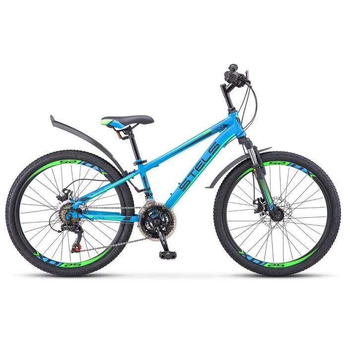 """Велосипед 24"""" Stels Navigator-400 MD, V010, цвет синий, размер 12"""""""