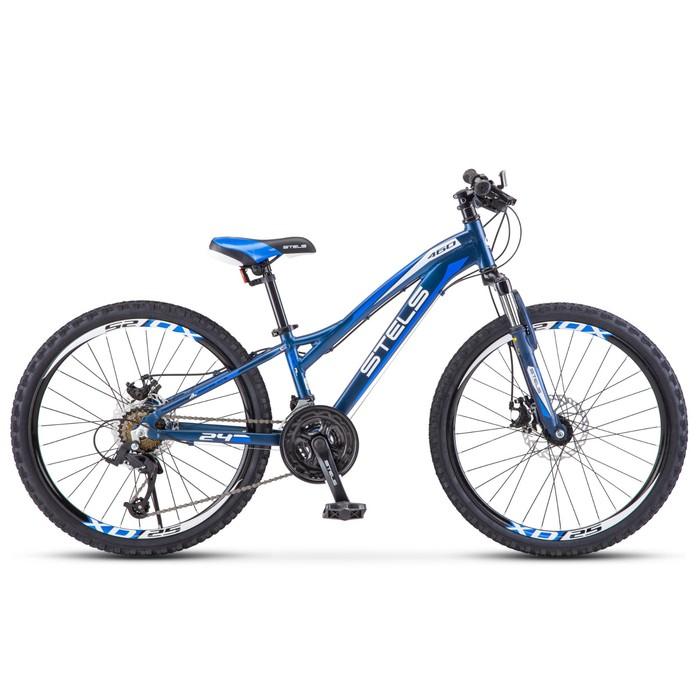 """Велосипед 24"""" Stels Navigator-460 MD, V021, цвет тёмно-синий, размер 11"""""""