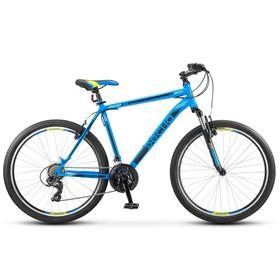 """Велосипед 26"""" Десна-2610, V010, цвет синий/чёрный, размер 16"""""""