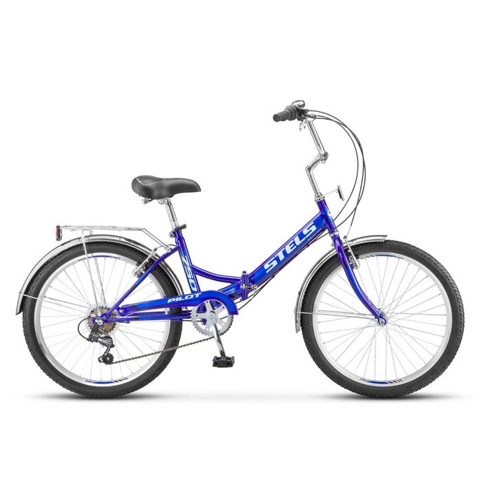 "Велосипед 24"" Stels Pilot-750, Z010, цвет синий, размер 16"""