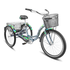 "Велосипед 26"" Stels Energy-III, V030, цвет серый/чёрный, размер 16"""