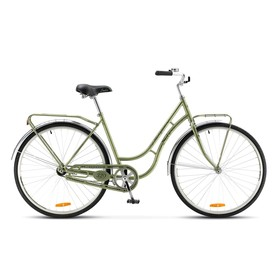 "Велосипед 28"" Stels Navigator-320, V020, цвет зелёный, размер 19,5"""