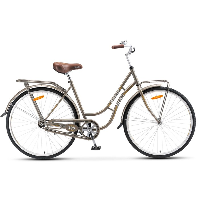 "Велосипед 28"" Stels Navigator-320, V020, цвет серый, размер 19,5"""