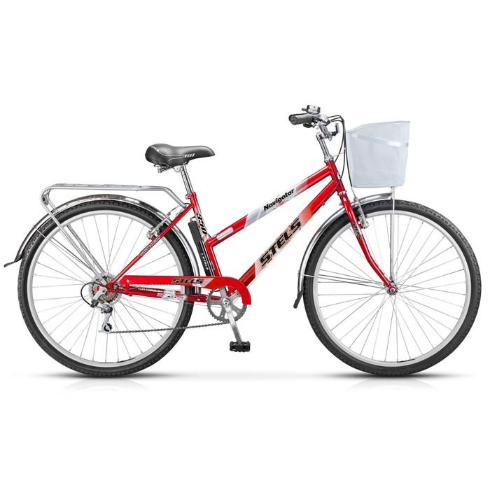 """Велосипед 28"""" Stels Navigator-350 Lady, Z010, цвет красный, размер 20"""""""