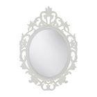 Зеркало, овал, цвет белый ВИКЕРСУНД