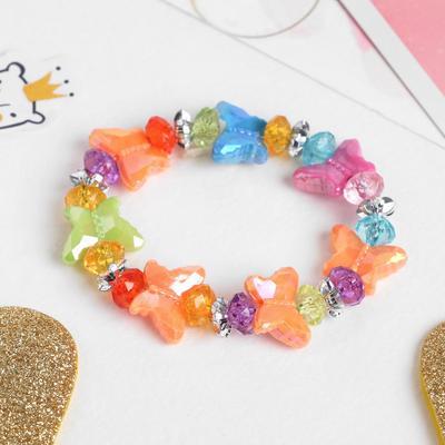 """Bracelet child """"Vibracula"""" butterfly, MIX color"""