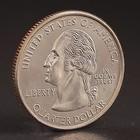 """Монета """"25 центов 2005 Калифорния США"""""""