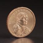 "Монета ""1 доллар 2010 США P Сакагавеи ""Стрелы"" США Индианка"