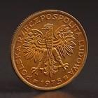 """Монета """"2 злотых 1975 Польша UNC"""