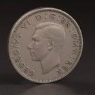 """Монета """"2 шиллинга 1948 Великобритания"""