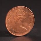 """Монета """"1/2 пенни 1971 Великобритания UNC"""