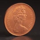 """Монета """"2 пенса 1971 Великобритания UNC"""