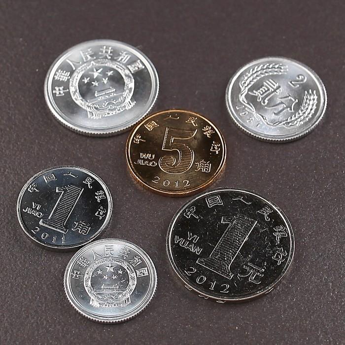 Набор монет Китай 1987-2012 UNC