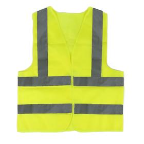 J3 textile vest, yellow, reinforced, XL