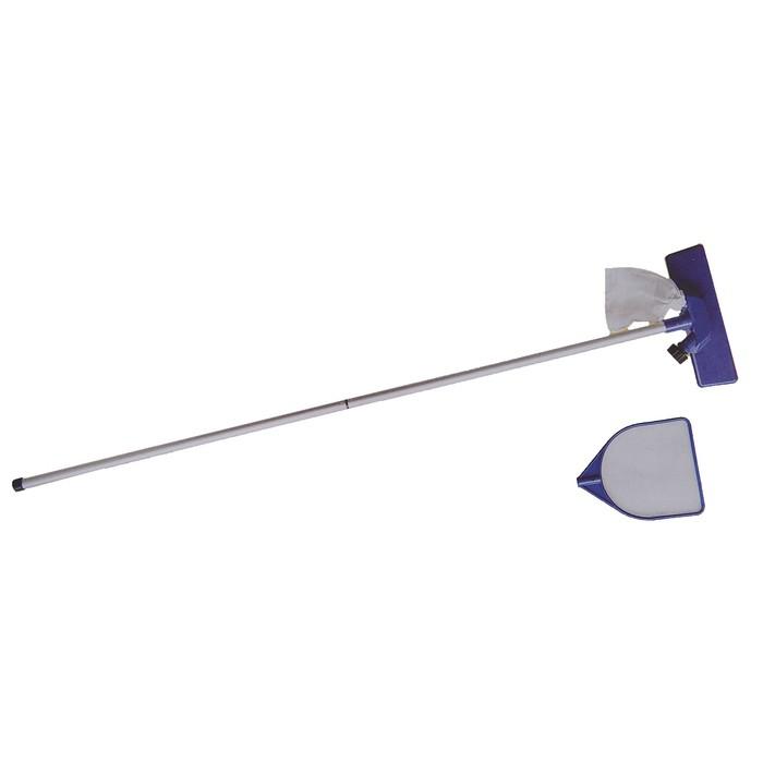 Набор для чистки бассейна, 3 предмета: сачок, вакуумная насадка, ручка алюминиевая 155 см