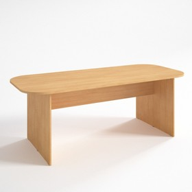 Конференц стол ФК.2, 2100х900х750 мм, бук светлый