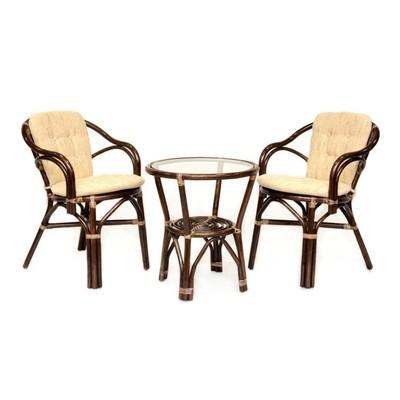 Комплект кофейный Patio, 02/13 (стол+2 кресла)