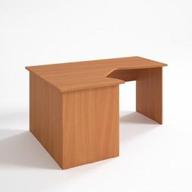 Стол угловой левый СЛ16.12.7, 1600х1180/680х750 мм, вишня оксфорд