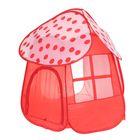 """Игровая палатка """"Дом мечты"""", цвет бело-красный"""