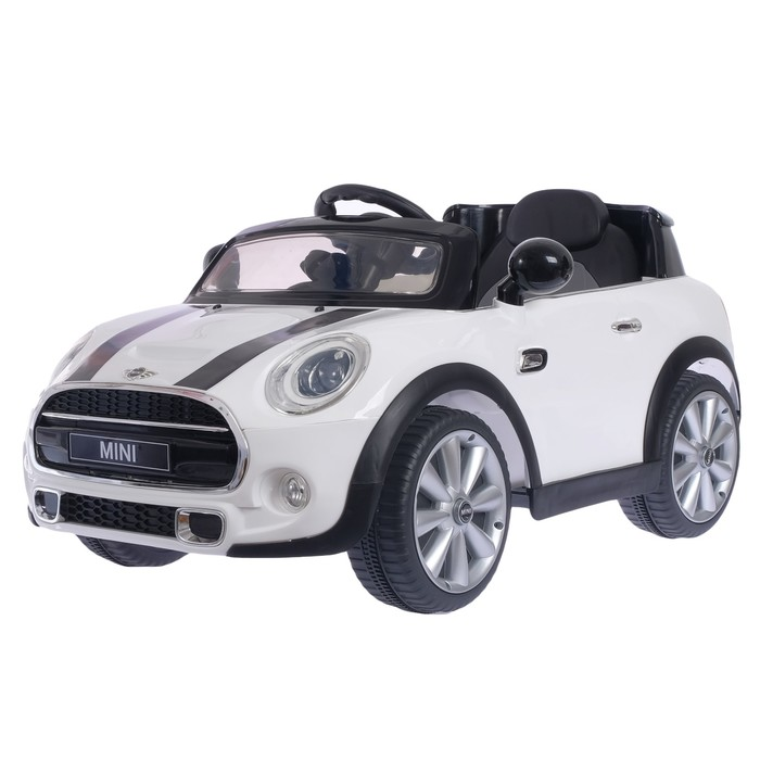 "Электромобиль ""MINI COOPER"", цвет белый"