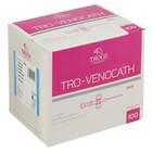 Интравенозные канюли Tro-Venocath Plus с доп. портом и крылышками, тефлон G22,