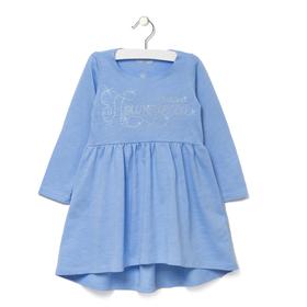 """Платье детское KAFTAN """"Наша принцесса"""", рост 110-116 (32), 5-6 лет, цвет голубой"""