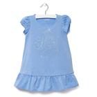 """Платье детское KAFTAN """"Мисс Мира"""", рост 104-110 (30), 3-4 года, цвет голубой"""