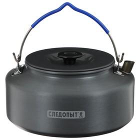 Чайник костровой «СЛЕДОПЫТ», 1,6 л, с анодированным покрытием