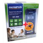 Диктофон Цифровой Olympus WS-806+ME-51S, 4 Гб, синий