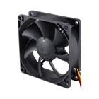 Вентилятор Glacialtech GT8025-LWD0B 80x80x25mm1151/ 4-pin 17-30dB 67gr Bulk