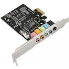 Звуковая карта PCI-E 8738 (C-Media CMI8738-LX) 5.1 bulk
