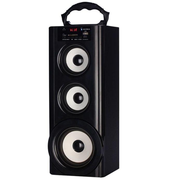 Аудиомагнитола Supra BTS-950, 9 Вт, MP3, FM(dig), USB, BT, SD, черный