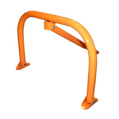 """Парковочный барьер """"Стандарт"""", с замком, цвет оранжевый"""