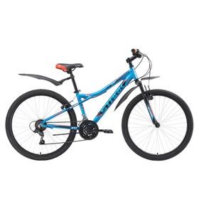 """Велосипед 26"""" Stark Slash 1 V, 2018, цвет голубой/чёрный/красный, размер 16"""""""