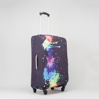 """Чехол для чемодана Краски, 24"""", 41*25*59см, черный"""