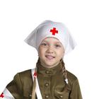 "Косынка ""Медсестра"", цвет белый"