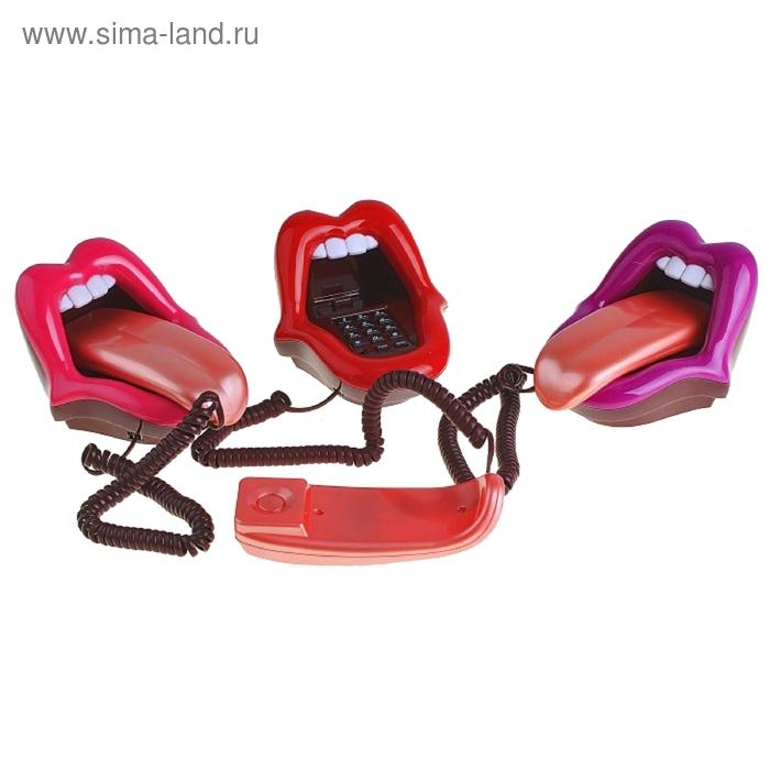 "Телефон ""Поцелуй"", цвета МИКС"