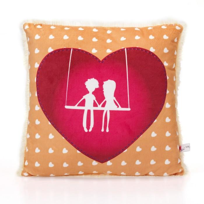 """Мягкая игрушка-подушка """"Влюбленная пара"""""""