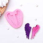 """Mold, silicone 7×6.5 cm """"Wings"""""""